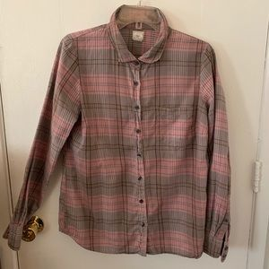 J Crew | The Perfect Shirt Button Down | Sz M